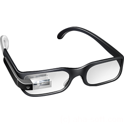 иконки google glasses, google glass,
