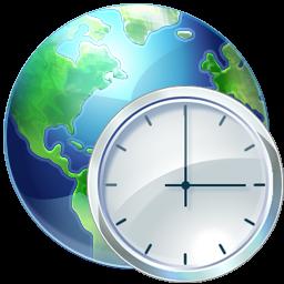иконки time zones, время, часовой пояс,