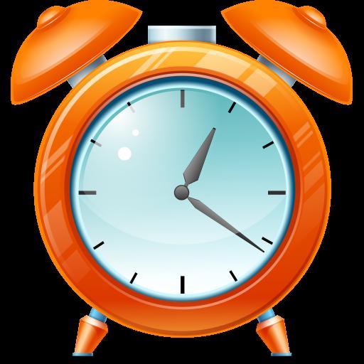 иконка alarm clock, будильник, часы, время,