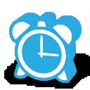 иконки часы, будильник,