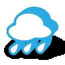 иконки погода, дождь,
