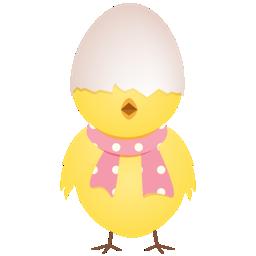 иконка chicken, цыпленок, птенец,