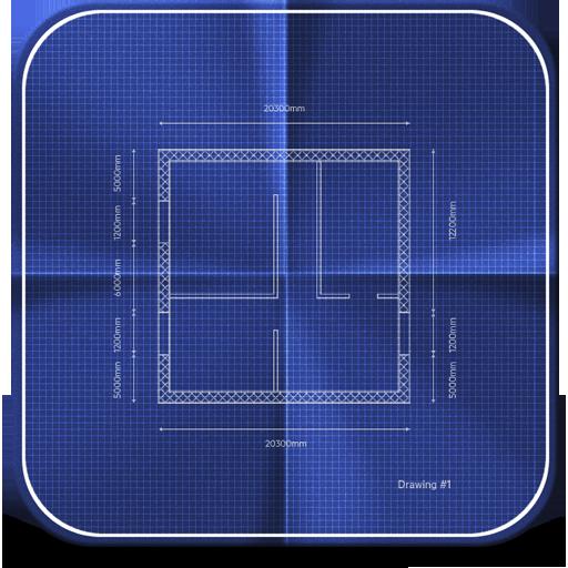 иконки blueprint, план, схема, чертеж,