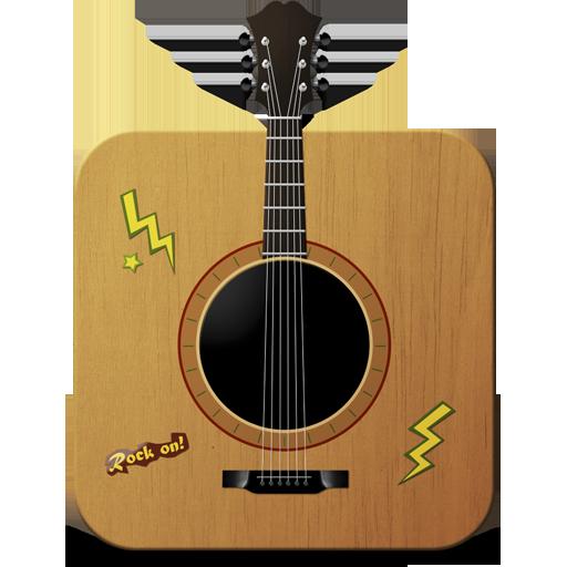 иконки guitar, гитара,