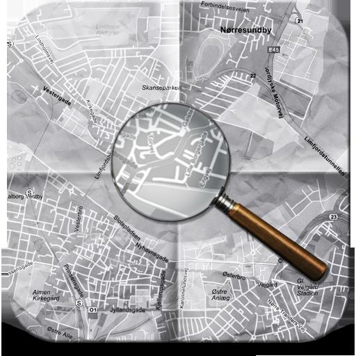 иконки map, карта, поиск,