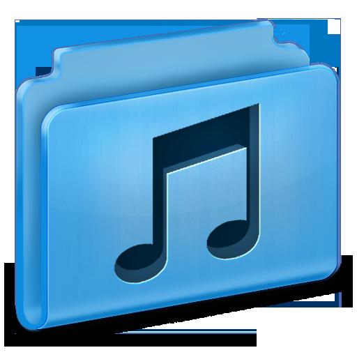 иконки music, музыка, мои аудиозаписи, папка, folder,
