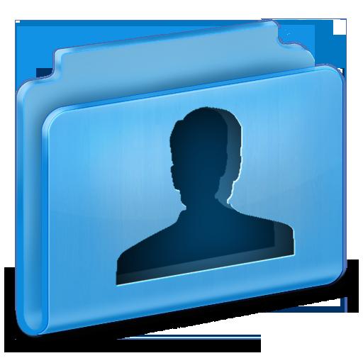 иконки  user, пользователь, папка,