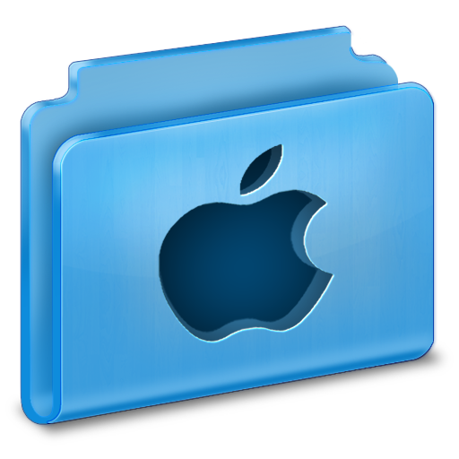 иконки apple, folder, папка,