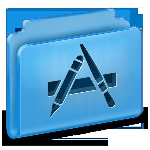 иконка applications,  folder, папка, приложения,