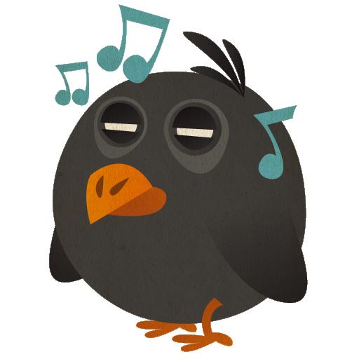 иконки songbird, птица, птичка,