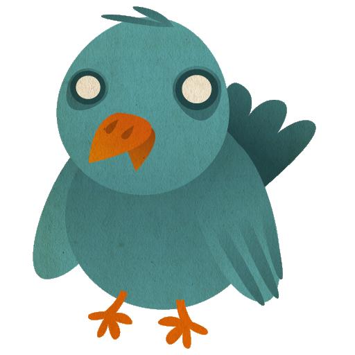 иконки  птица, bird,