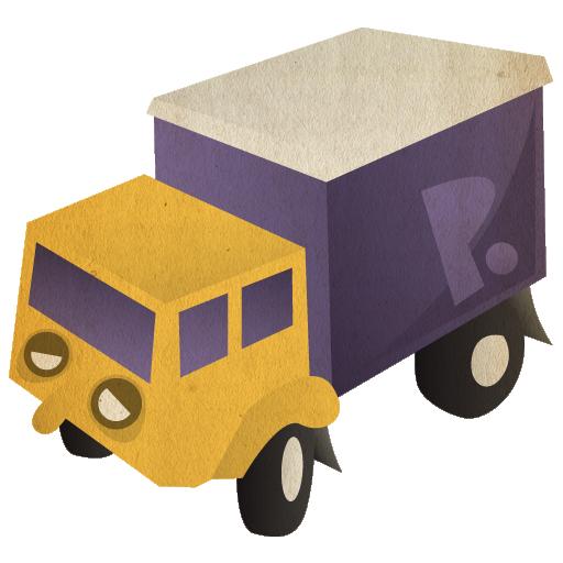 иконки transmit, грузовик, машина,