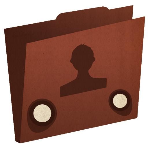 иконки folder, user, пользовательская папка,