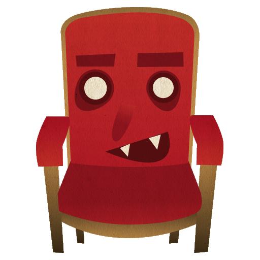 иконки frontrow, кресло,