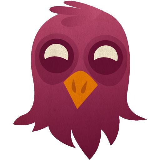 иконки pidgin, птица,