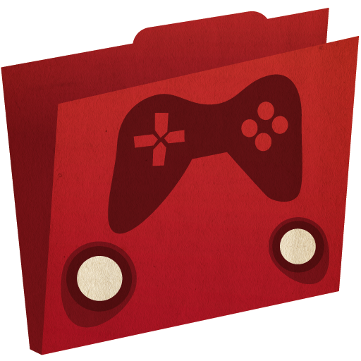 иконка games folder, игры, папка,