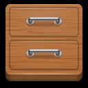 иконка file manager, файловый менеджер, шкаф, ящик,