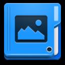 иконки  folder image, папка, мои изображения,