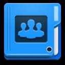 иконки folder people, папка, публичная папка,