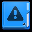 иконки folder, important, папка, восклицание, предупреждение,