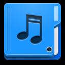 иконка folder, music, папка, мои аудиозаписи, музыка,