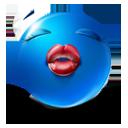 иконки смайл, смайлик, губы, поцелуй,