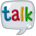 иконки google talk, чат,
