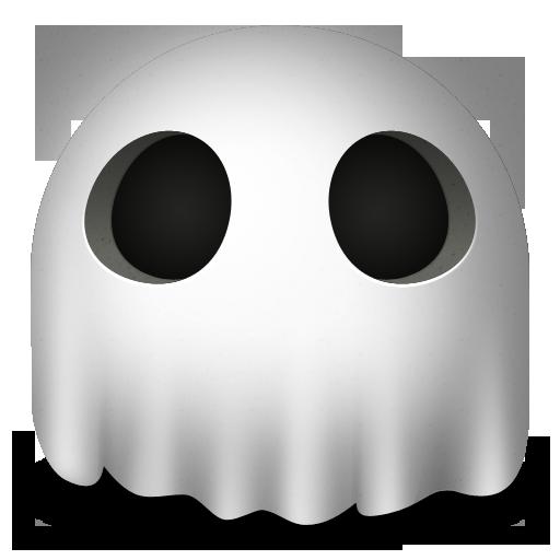 иконки ghost, приведение, призрак,