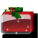 иконка christmas, папка, новый год, рождество,