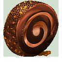 иконки chocolate roll, шоколадный рулет, еда,