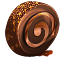 иконка chocolate roll, шоколадный рулет, еда,