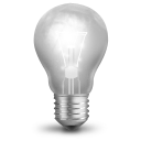иконки lamp, лампочка,