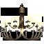 иконка chandelier, люстра,