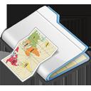 иконки folder, папка, карта,