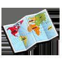 иконки map, карта,