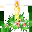 иконки candle, свеча, свечи, новый год,