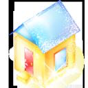 иконки house, дом, новый год,
