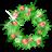 иконка holly, garland, новый год,