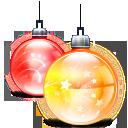 иконки balls, новогодний шарик, новогодний шар, новый год,