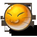иконка meaw, смайлик,