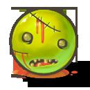 иконки brains, хэллоуин, смайлик, смайл, зомби,
