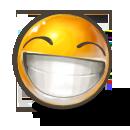 иконки grin, смайлик, смайл, ухмылка, смеется,