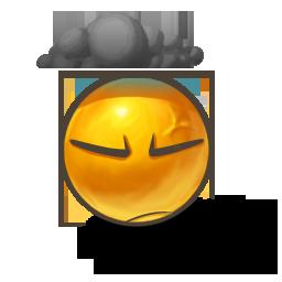 иконки смайл, смайлик, dark mood,