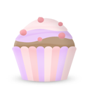 иконки кекс, еда, cupcake,