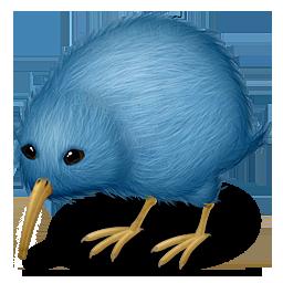 иконка киви, barris, птица, животное, animal,
