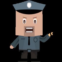 иконки cop, коп, полицейский, полиция,
