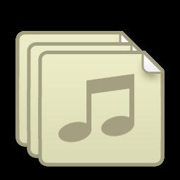иконки плейлист, аудио, музыка,