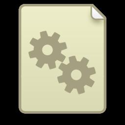 иконки системный файл, настройки, шестеренка, doc system,