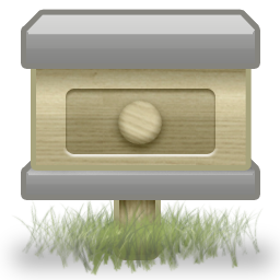 иконка почтовый ящик, mail,