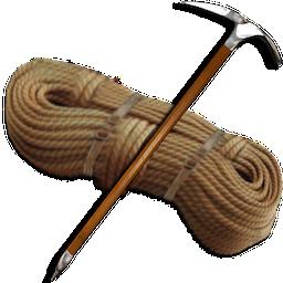 иконки rope, веревка, скалолазание,